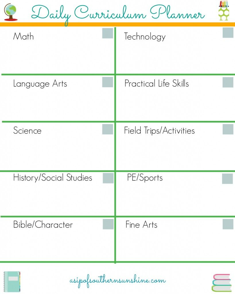 20 Free Homeschool Planners For Moms | Homeschool Daily