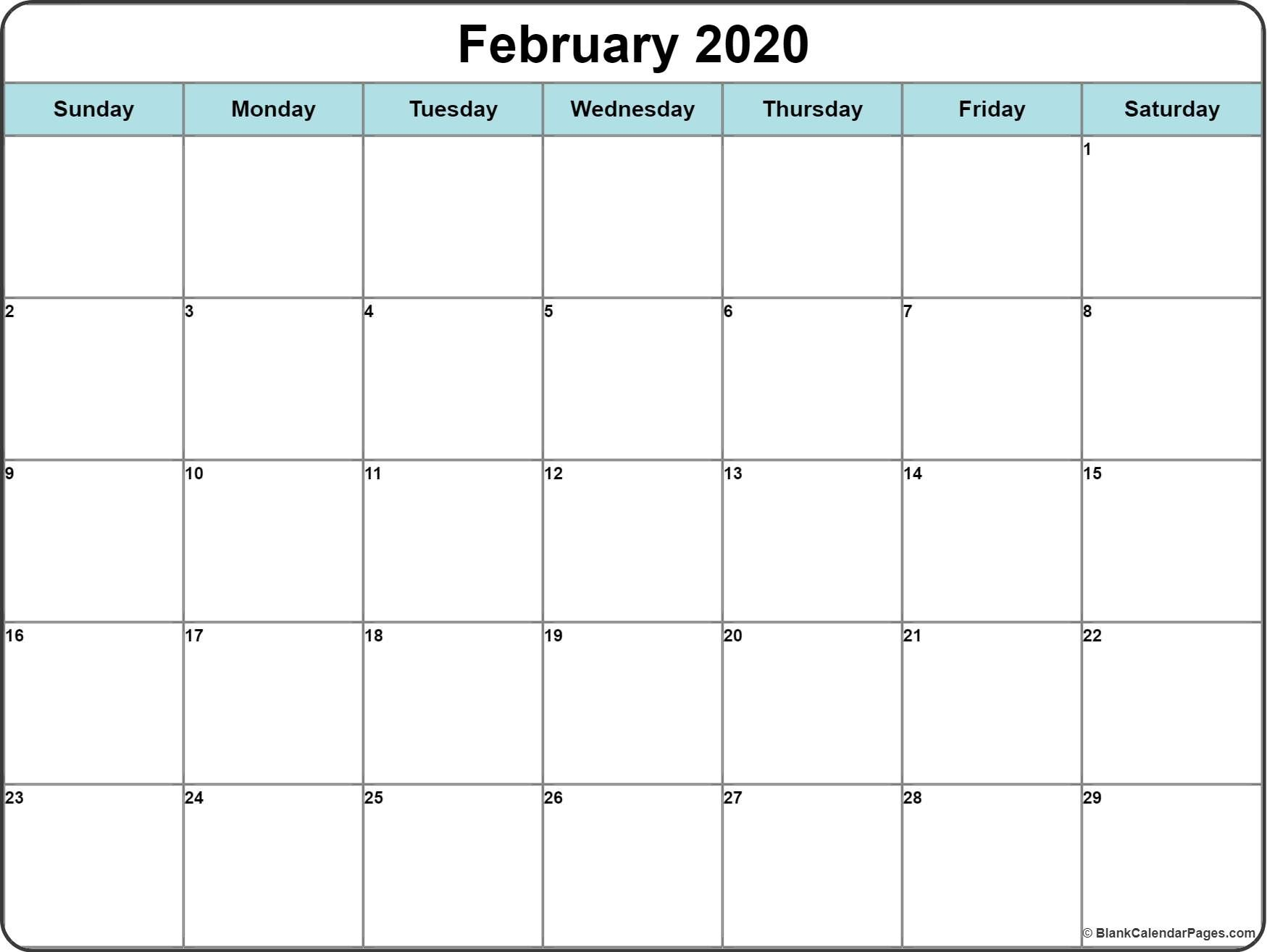 2020 Calendar With Space To Write In 2020 | Calendar
