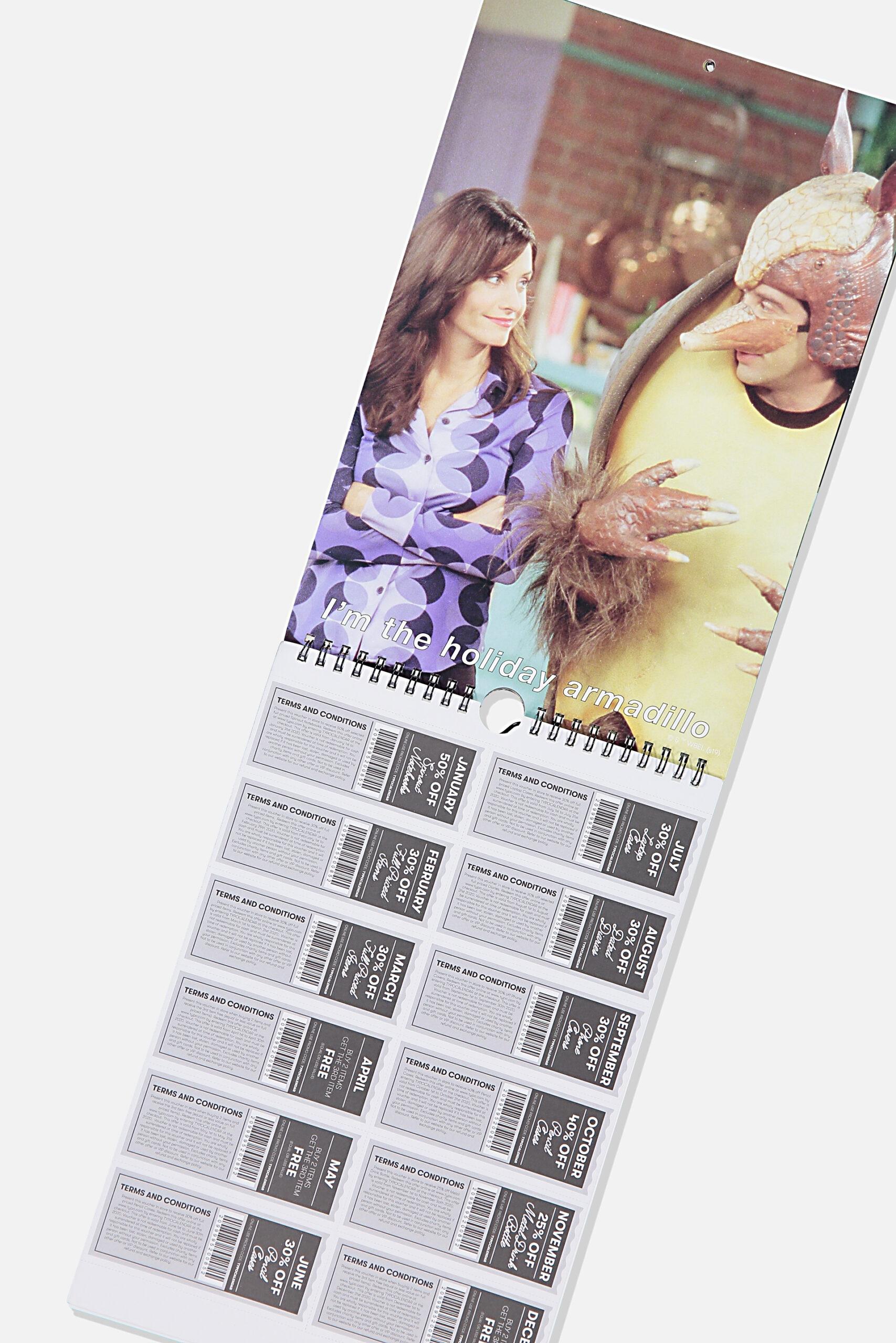 2020 Friends Get A Date Calendar