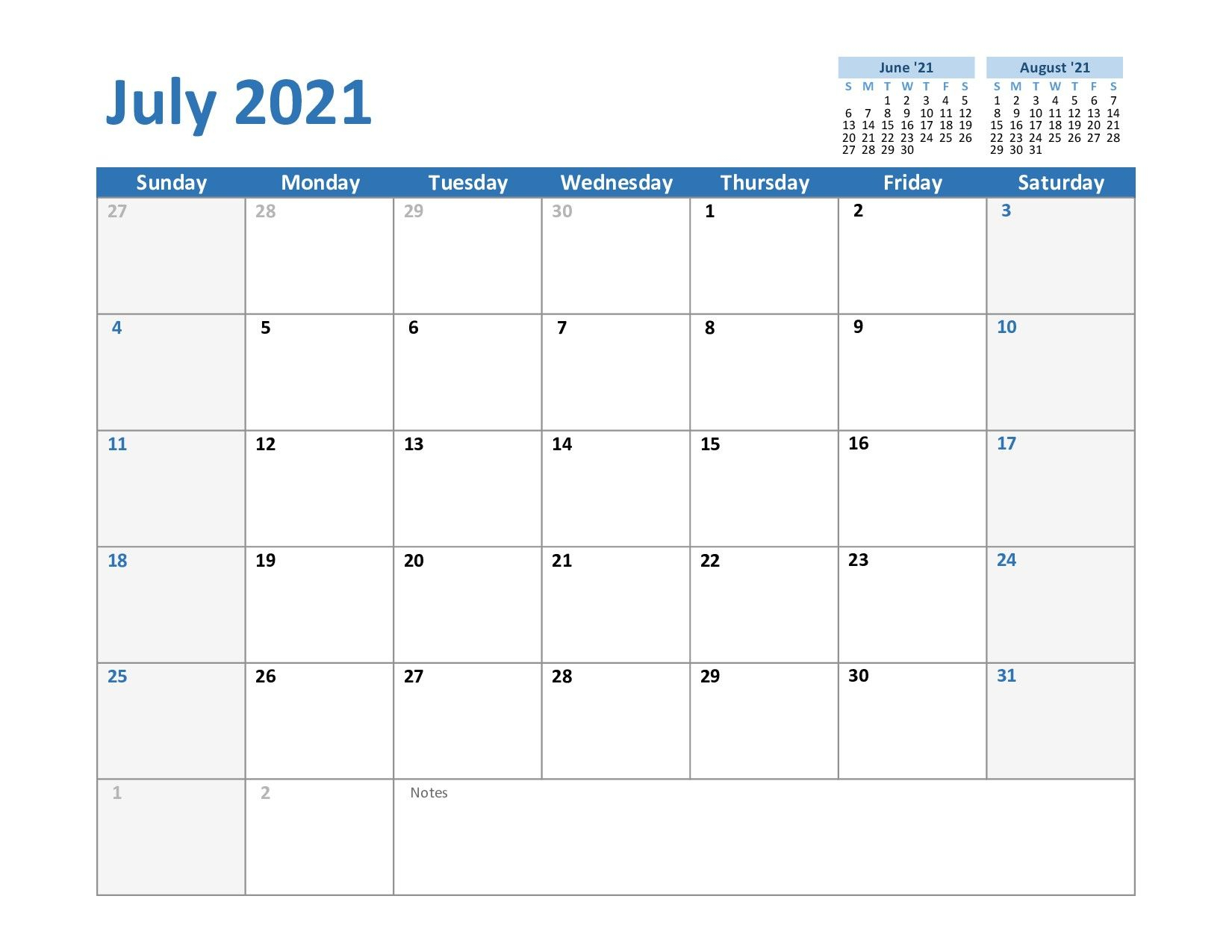 2021 Calendar Fillable July – Allowed To The Blog With This