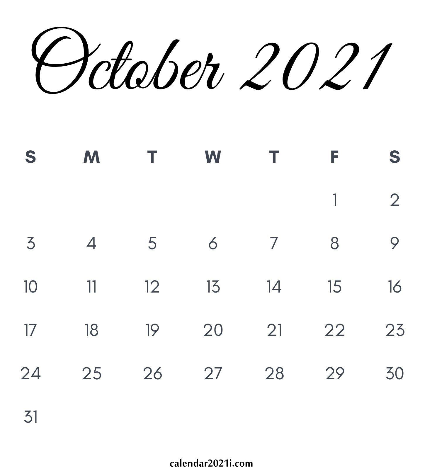 2021 Calendar Monthly Printable | Calendar 2021