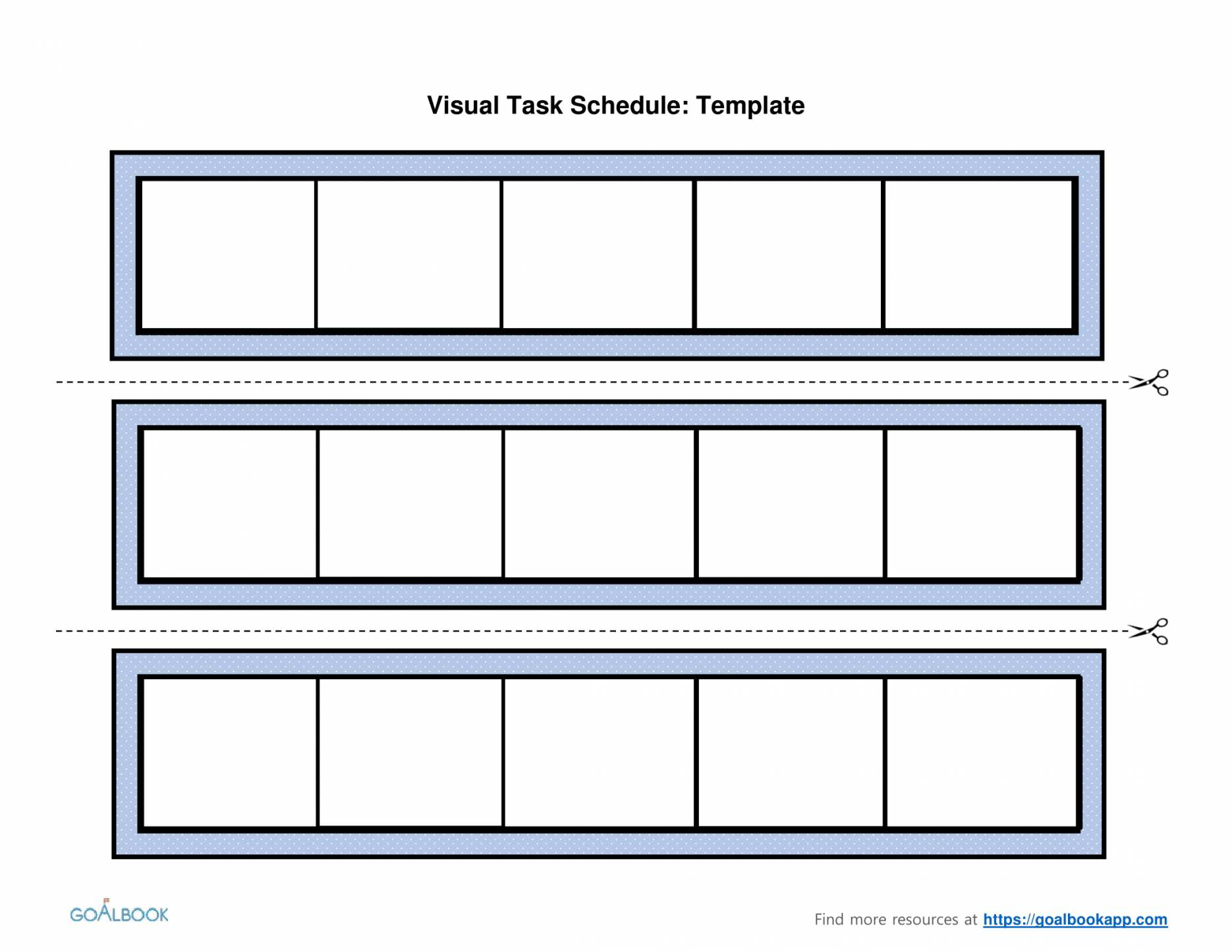 88 Create Visual Schedule Template Word Now With Visual