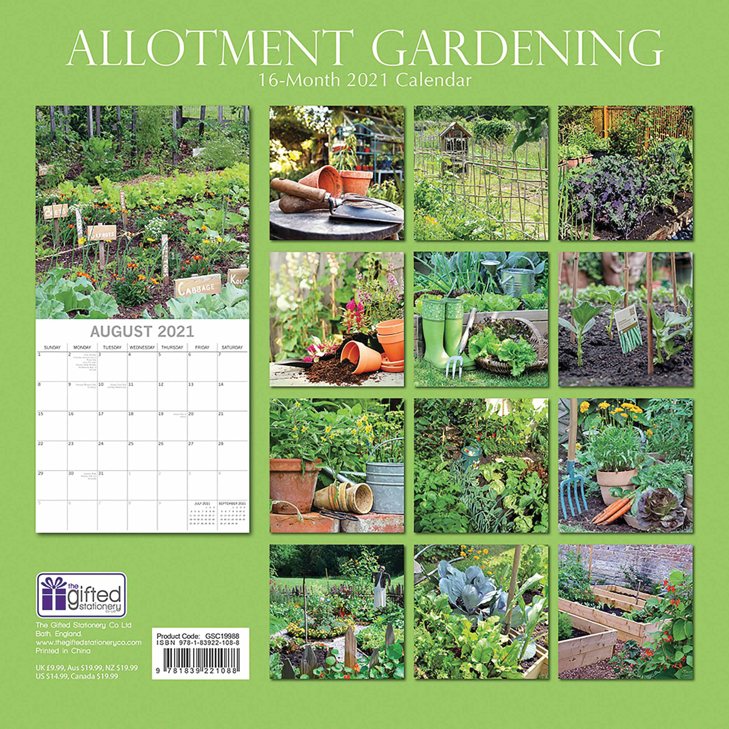 Allotment Gardening Calendar 2021 At Calendar Club