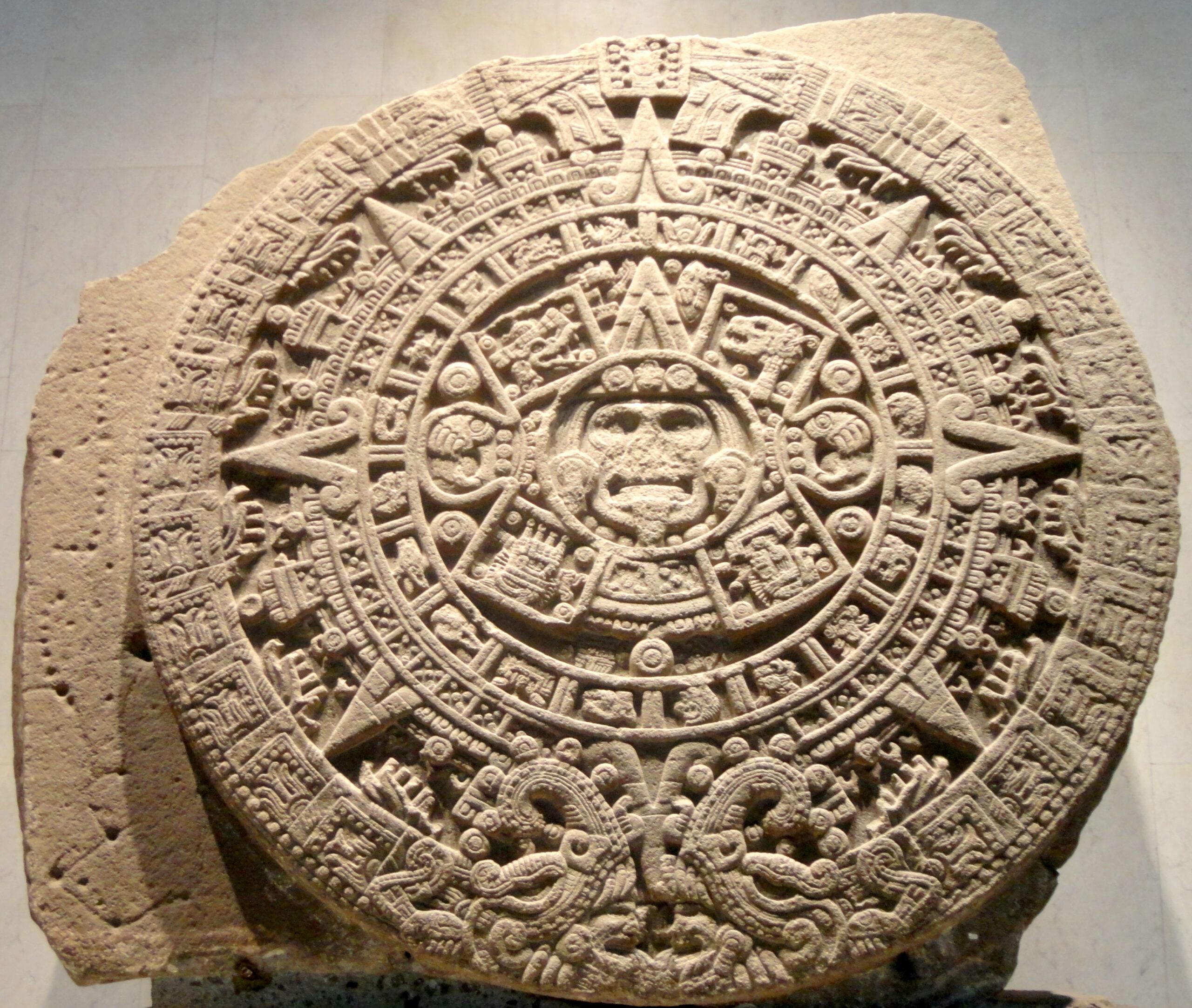 Aztec Sun Stone - Wikipedia