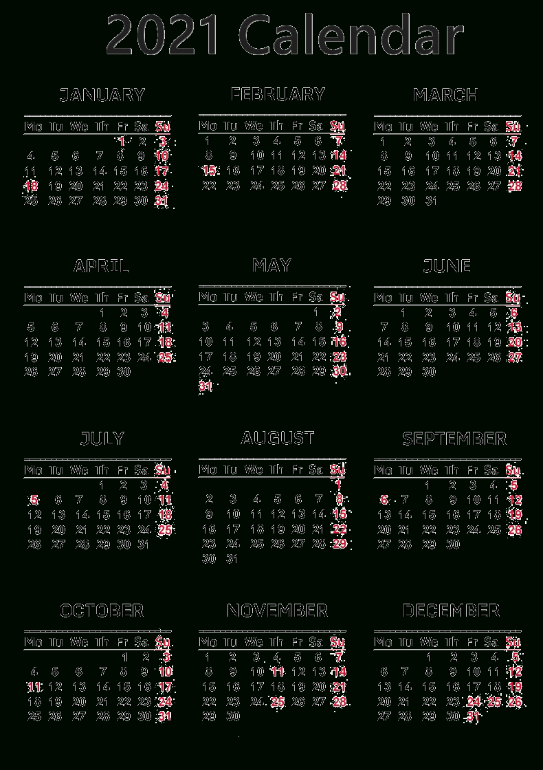 Calendar 2021 Png Free Download | Png All