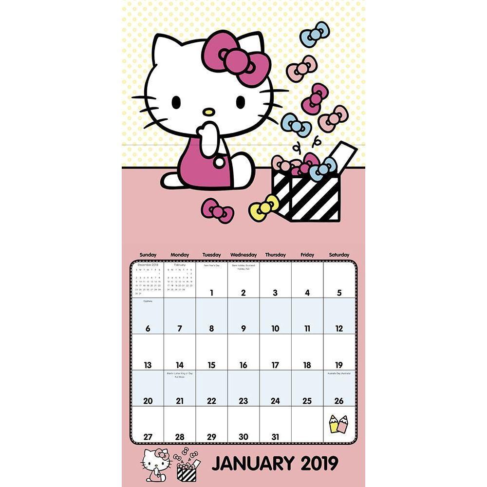 Calendario 2020 Hello Kitty - Calendario 2019