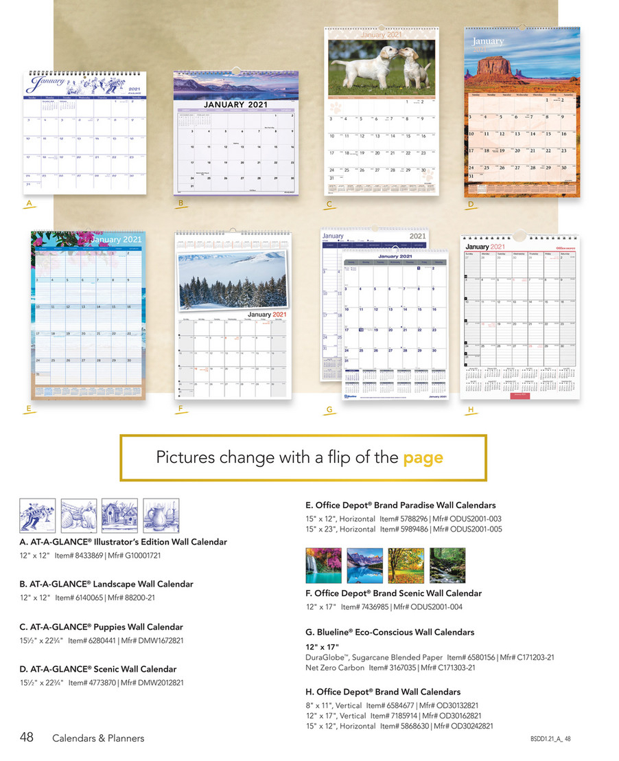 Calendars & Planners 2021 - Page 56