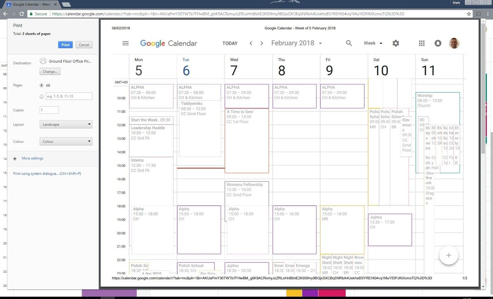 Can I Print Google Calendar In 2020 | Google Calendar