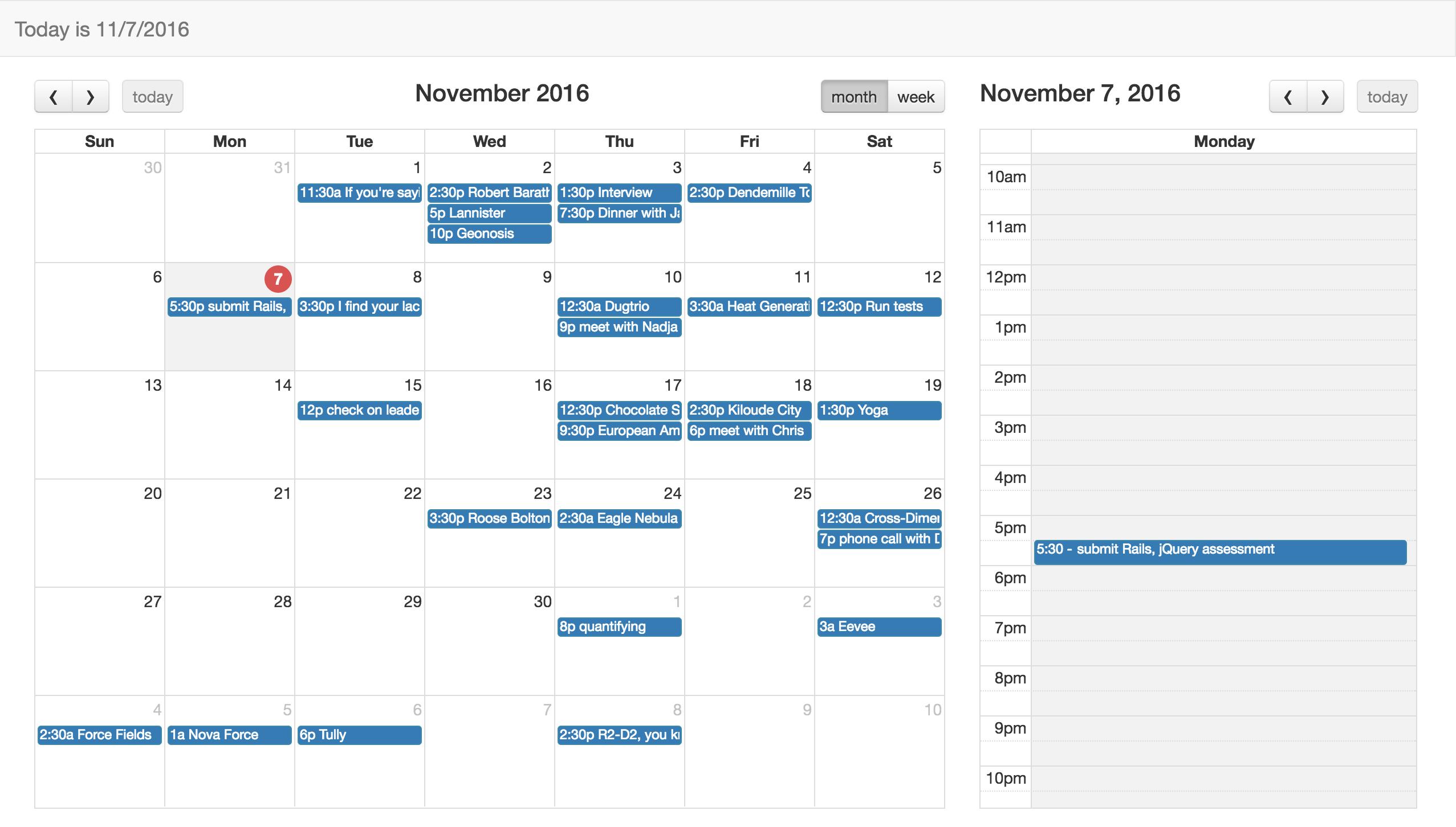 Creating A Calendar App Using Full Calendar Javascript