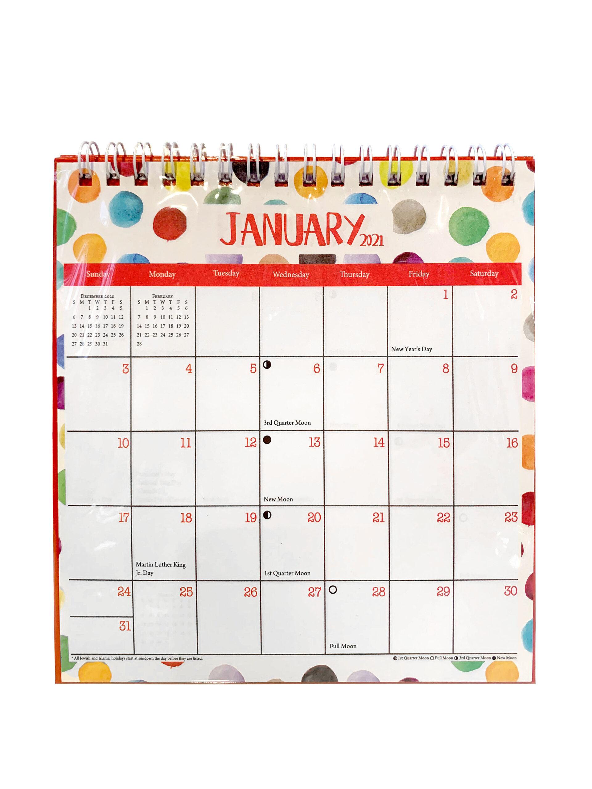Desk Calendar For The Year 2021 Academic Desk Calendar Small Desk  Calendar Desk Pad Calendar Office Calendar Deskwall Calendar Large  Monthly
