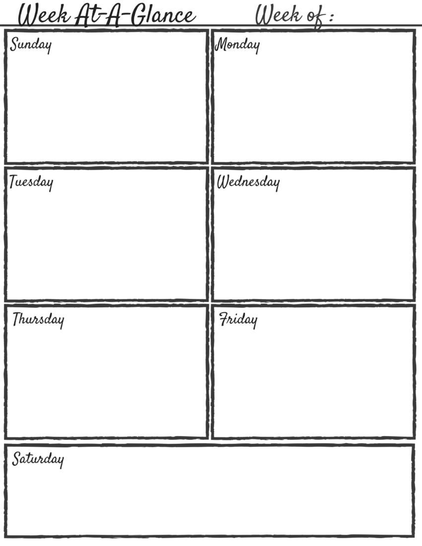 Free Mom Boss Printable Planning Pages - The Ok Mommathe Ok