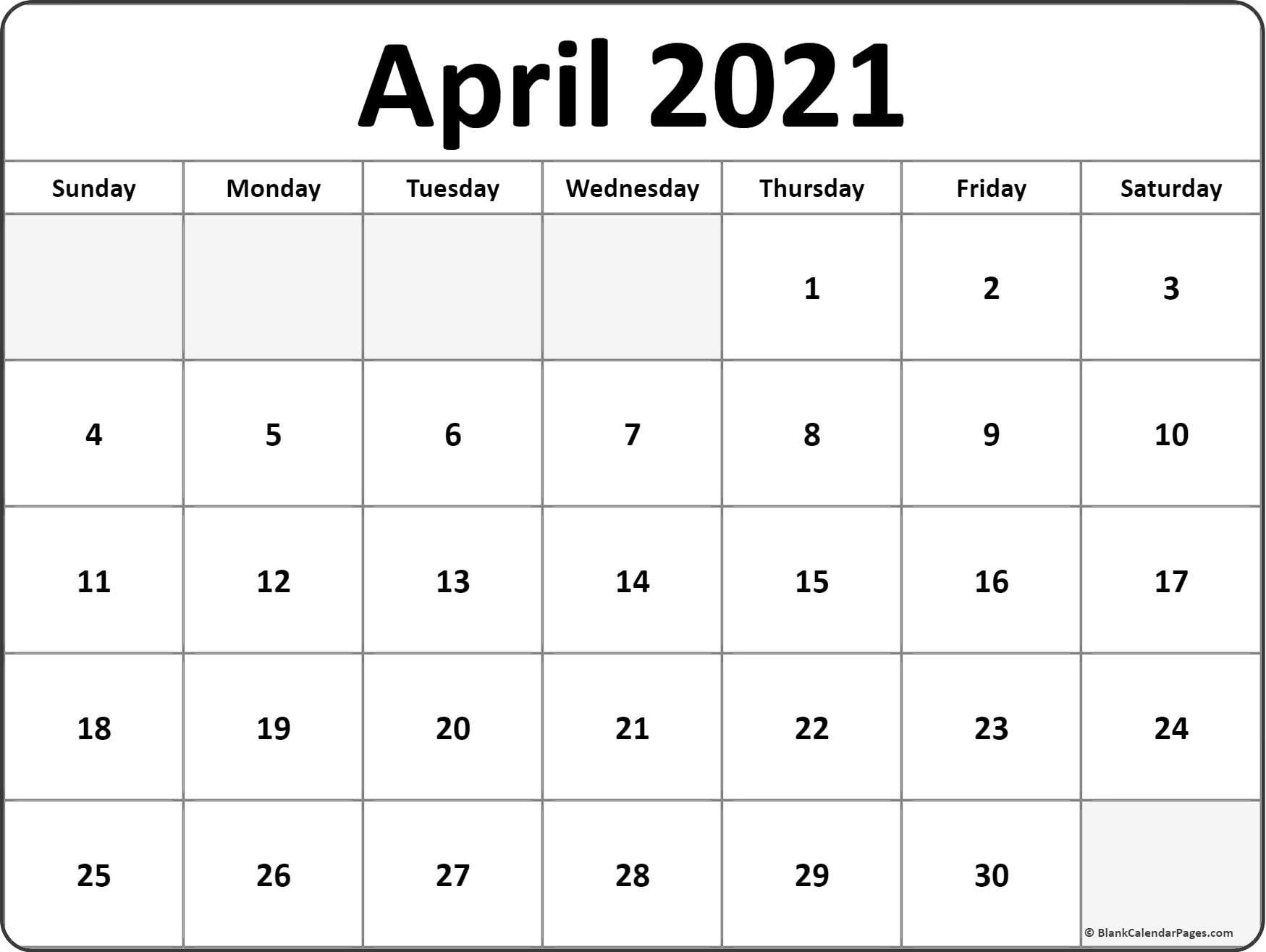 Free Monthly Calendar Print Out 2021 – Encouraged For You To