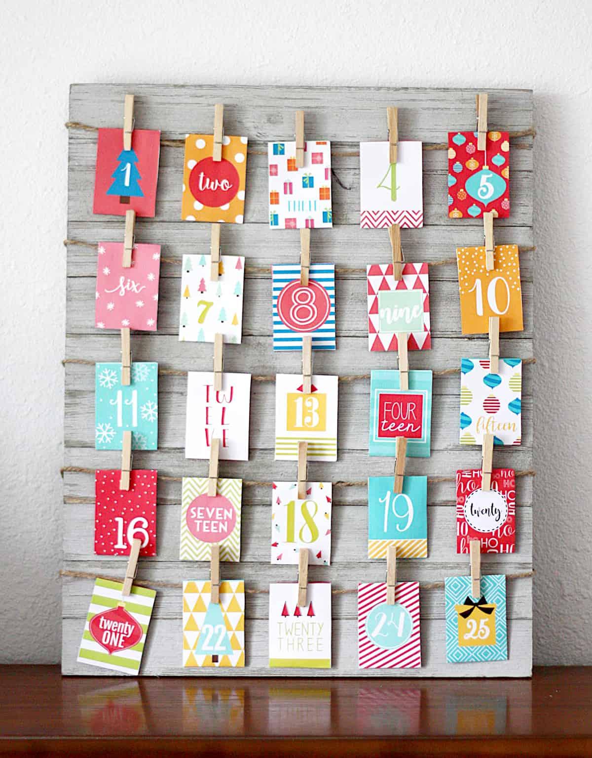 Free Printable Advent Calendar - Loads Of Fun | Skip To My Lou
