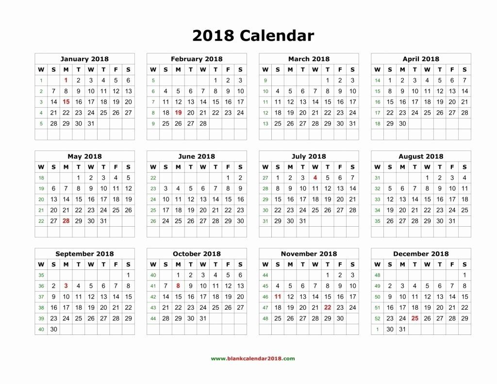 Free Printable Calendar With Large Boxes In 2020 | 12 Month