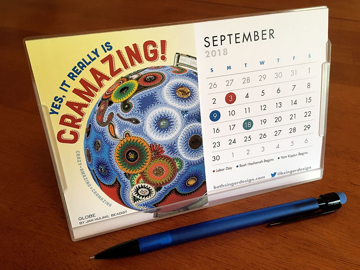 Happy September! A New Month Means A New Calendar Page — But