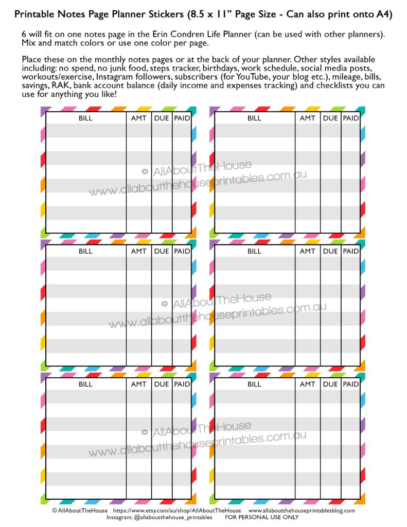 How To Make Planner Printables (Advice From A Planner Addict