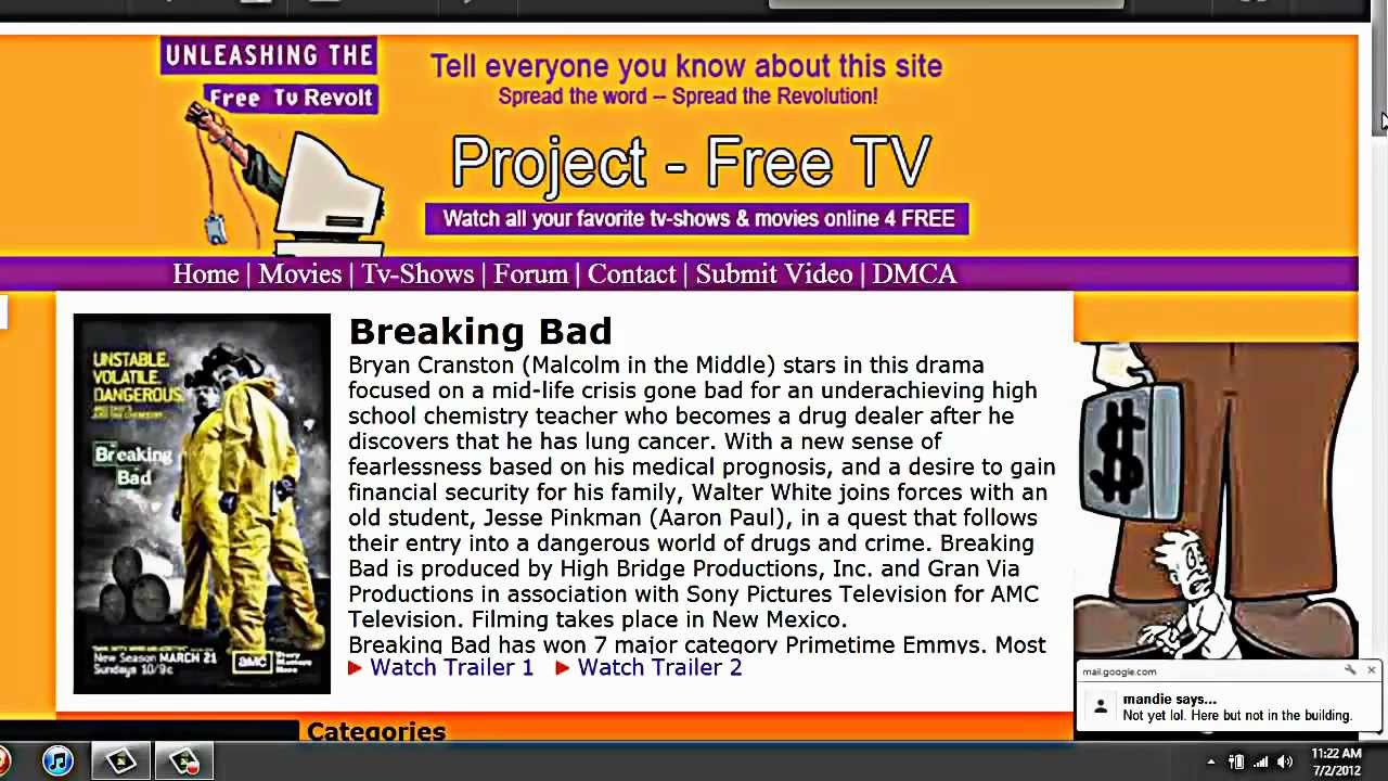 Is Project Free Tv