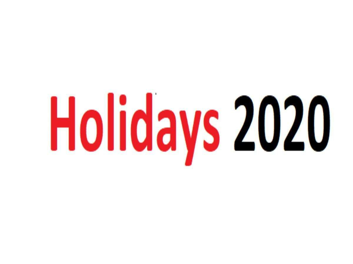 List Of Holiday Calendar 2020 For India | Business Insider India