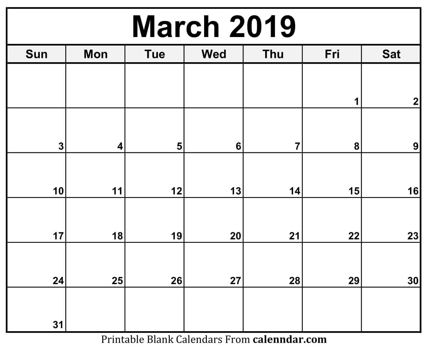 Calendar 11X17 Printable