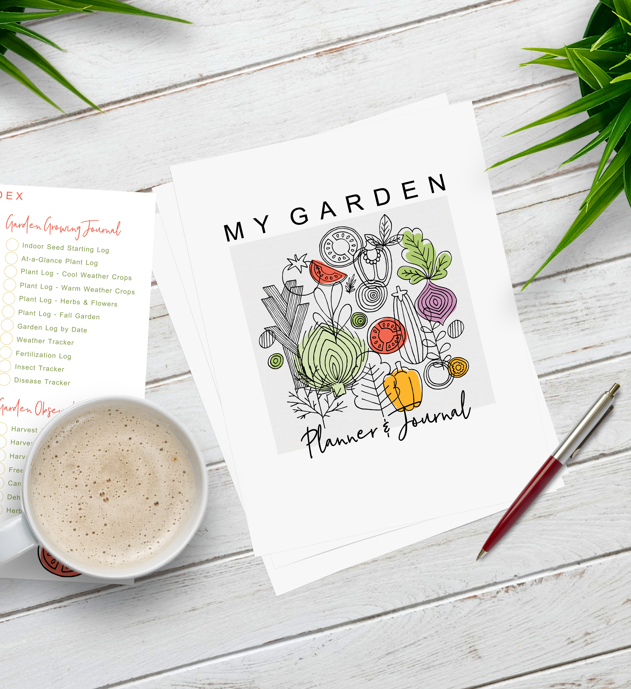 New! 2021 Complete Garden Planner & Journal Printable