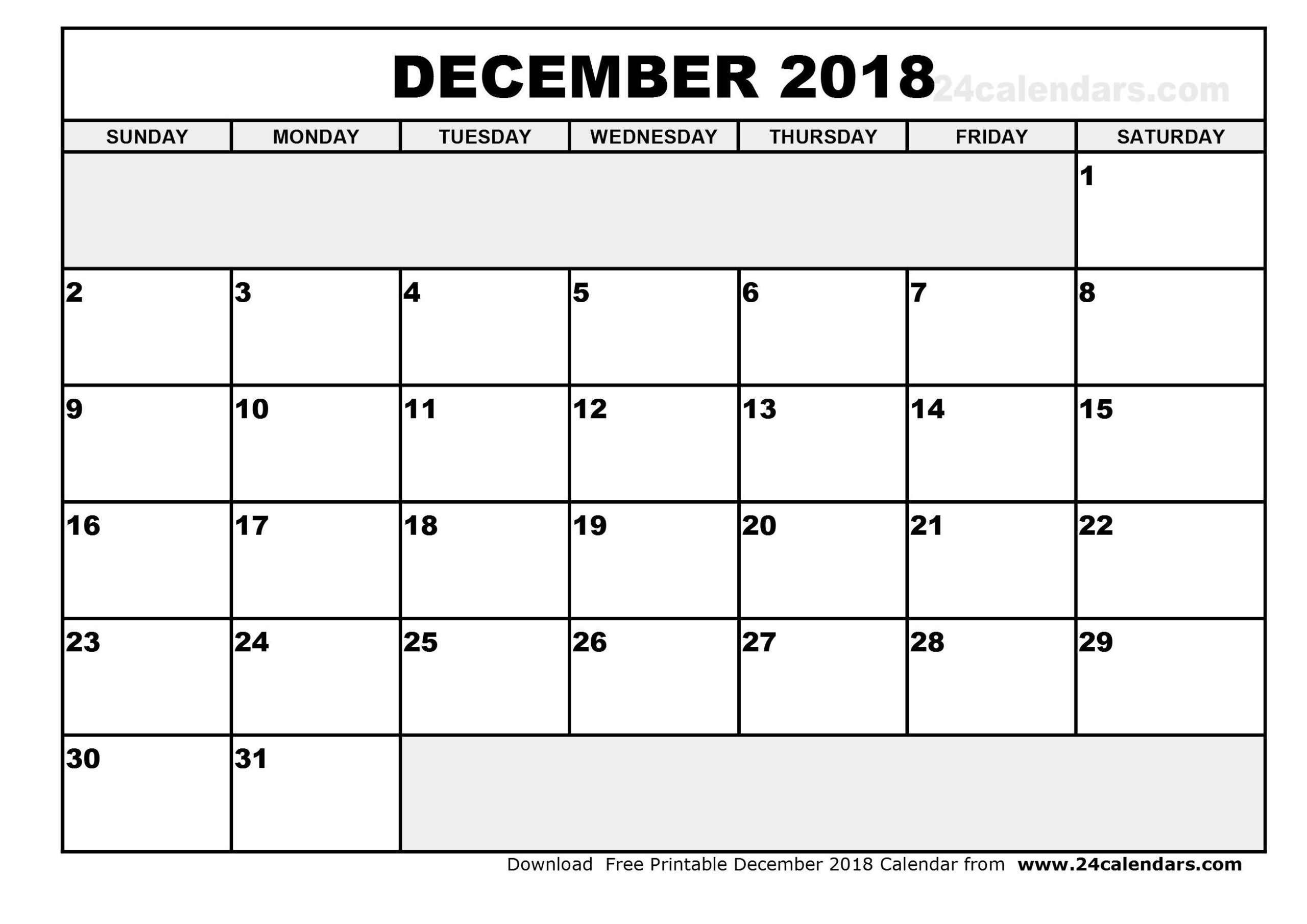 Printable Calendar Large Squares In 2020 | Blank Monthly