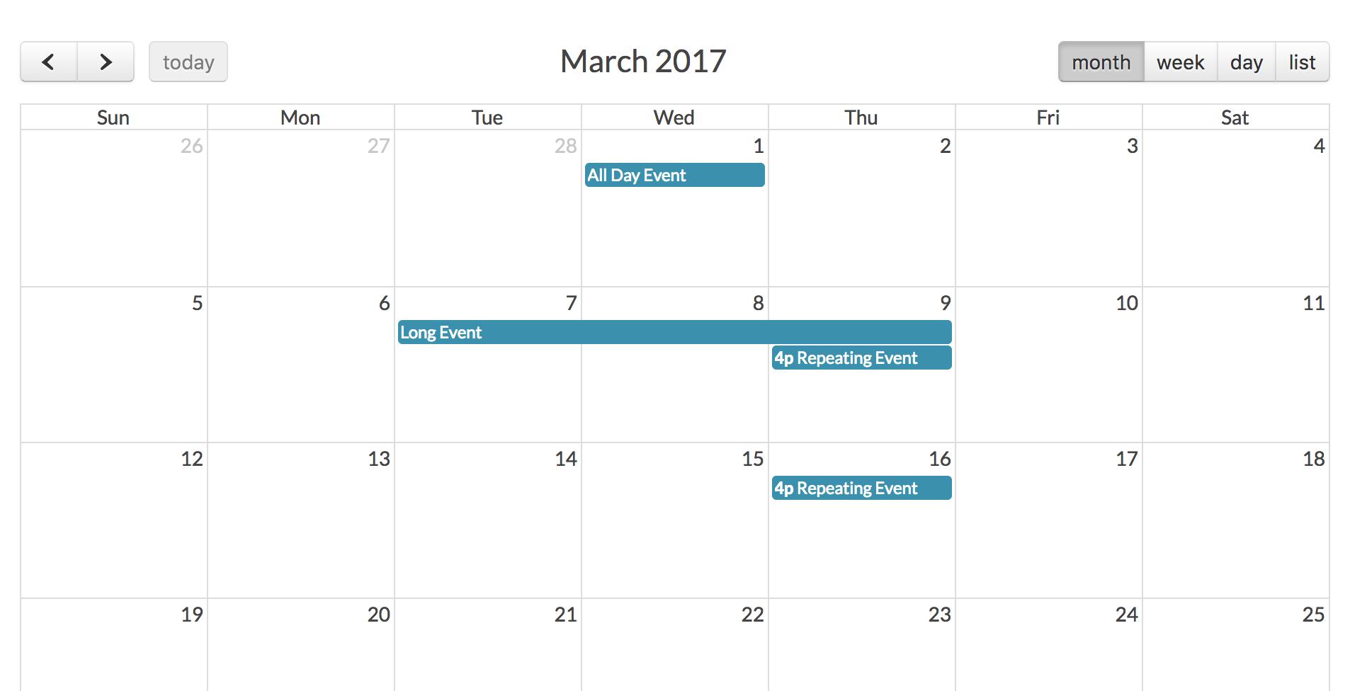 Tasks Calendar With Laravel + Fullcalendar + Quickadminpanel