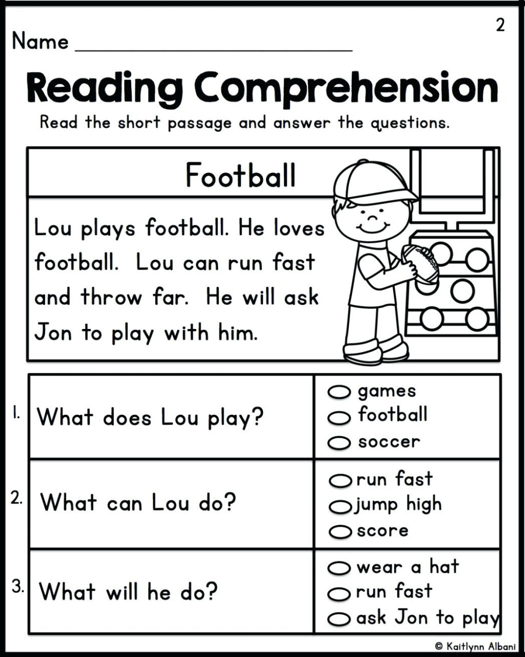 Worksheet ~ Worksheet 1St Grade Reading To Free Download