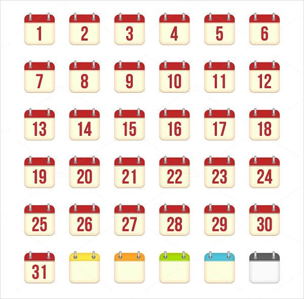 18+ Calendar Icons - Free Psd Ai Vector Eps Format