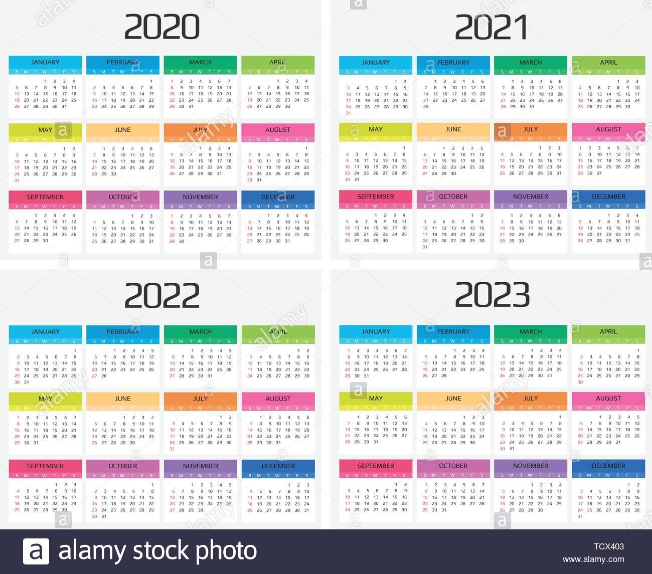 20+ 2020 2021 2022 Calendar - Free Download Printable