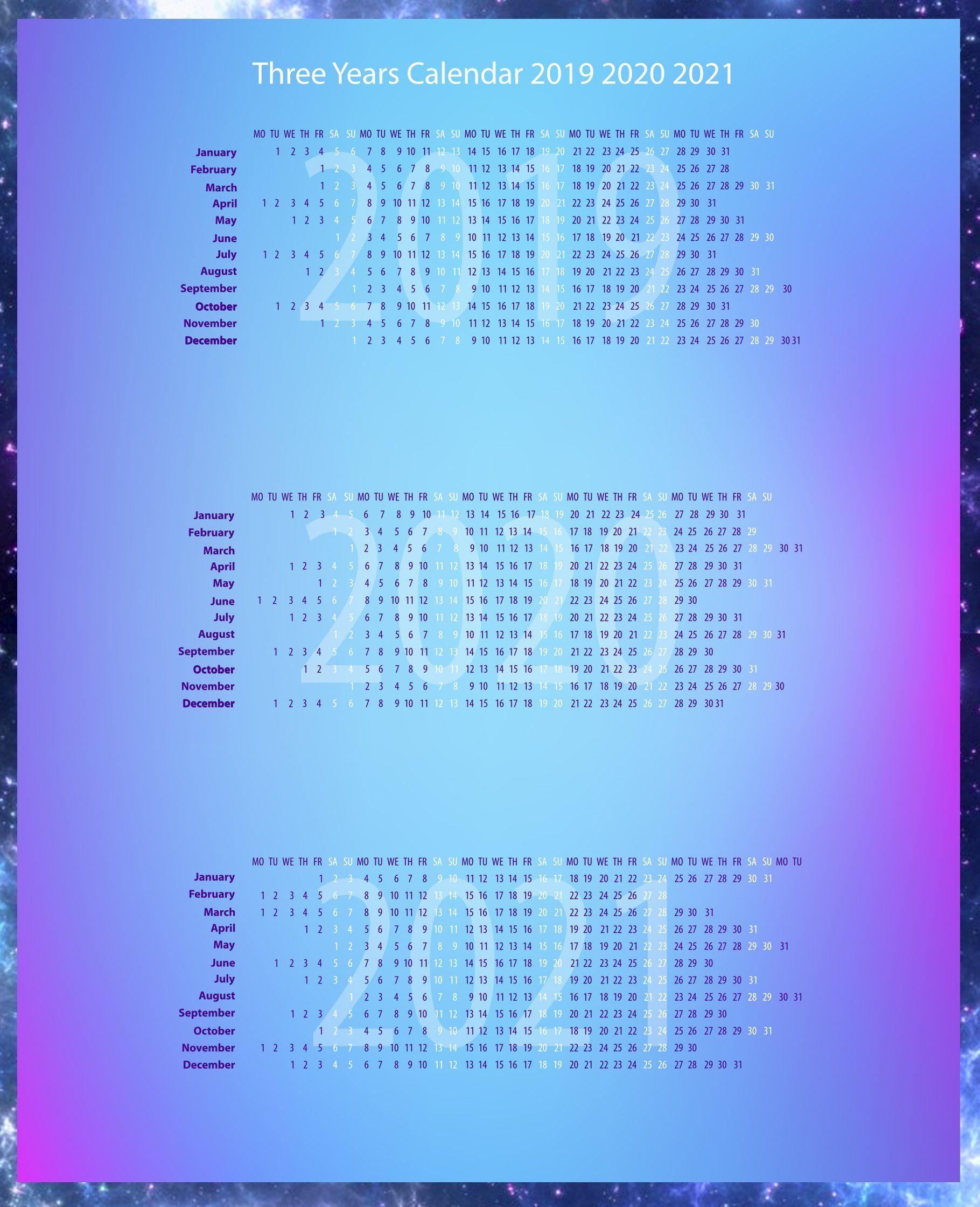 20+ Zodiac Calendar 2021 - Free Download Printable