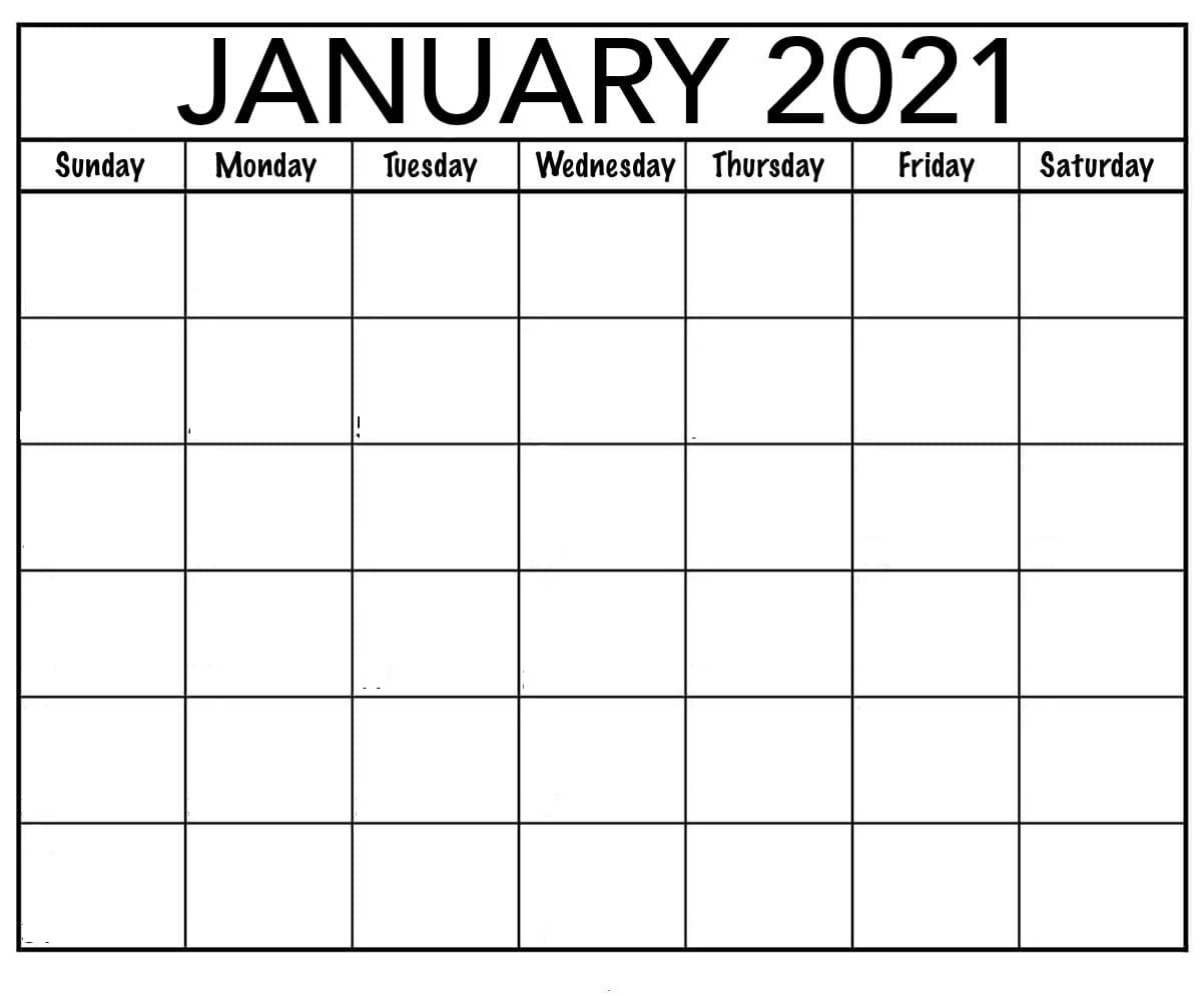 2021 Calendar Editable Free - Printable Calendar December