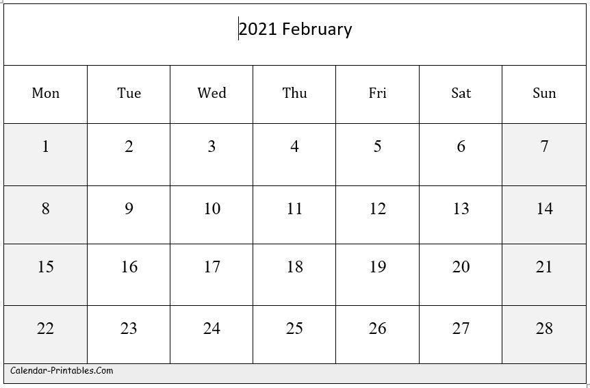 2021 Calendar Templates Editableword - 15 Free Monthly