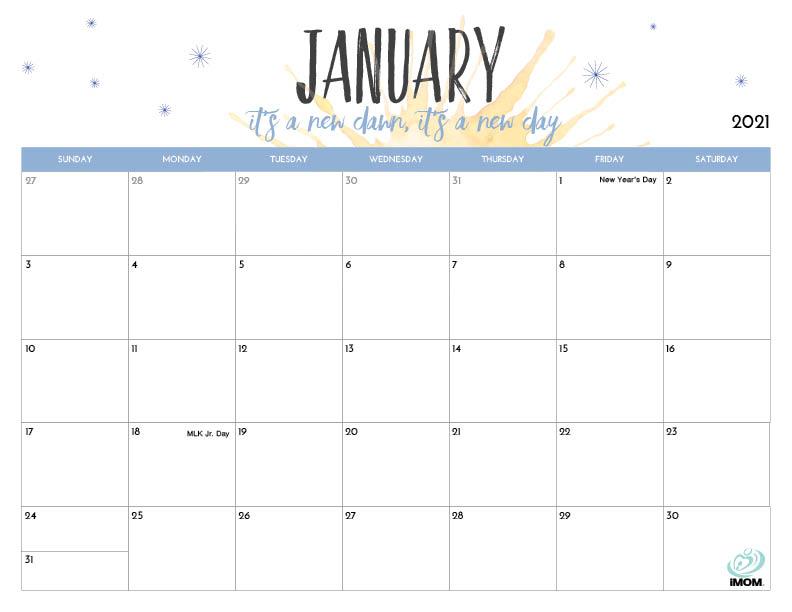 2021 Calendar Templates Editableword : These Are 2021