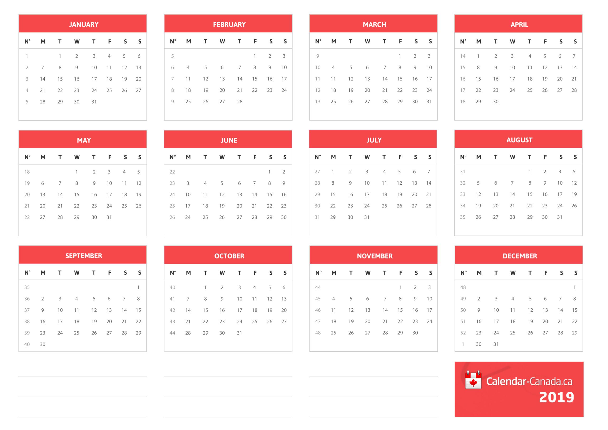 2021 Canada Holiday Calendar | Printable Calendars 2021