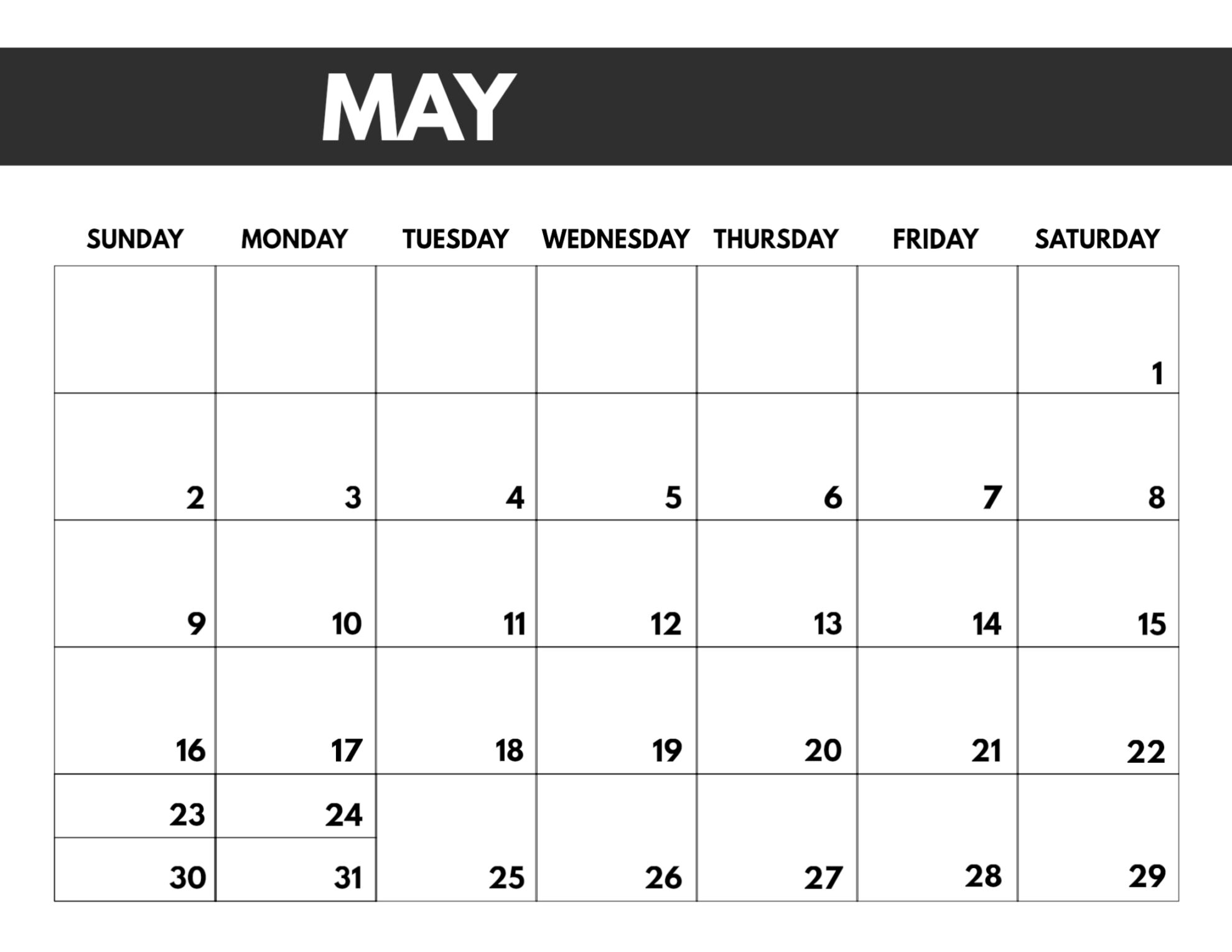 2021 Free Monthly Calendar Templates Paper Trail Design