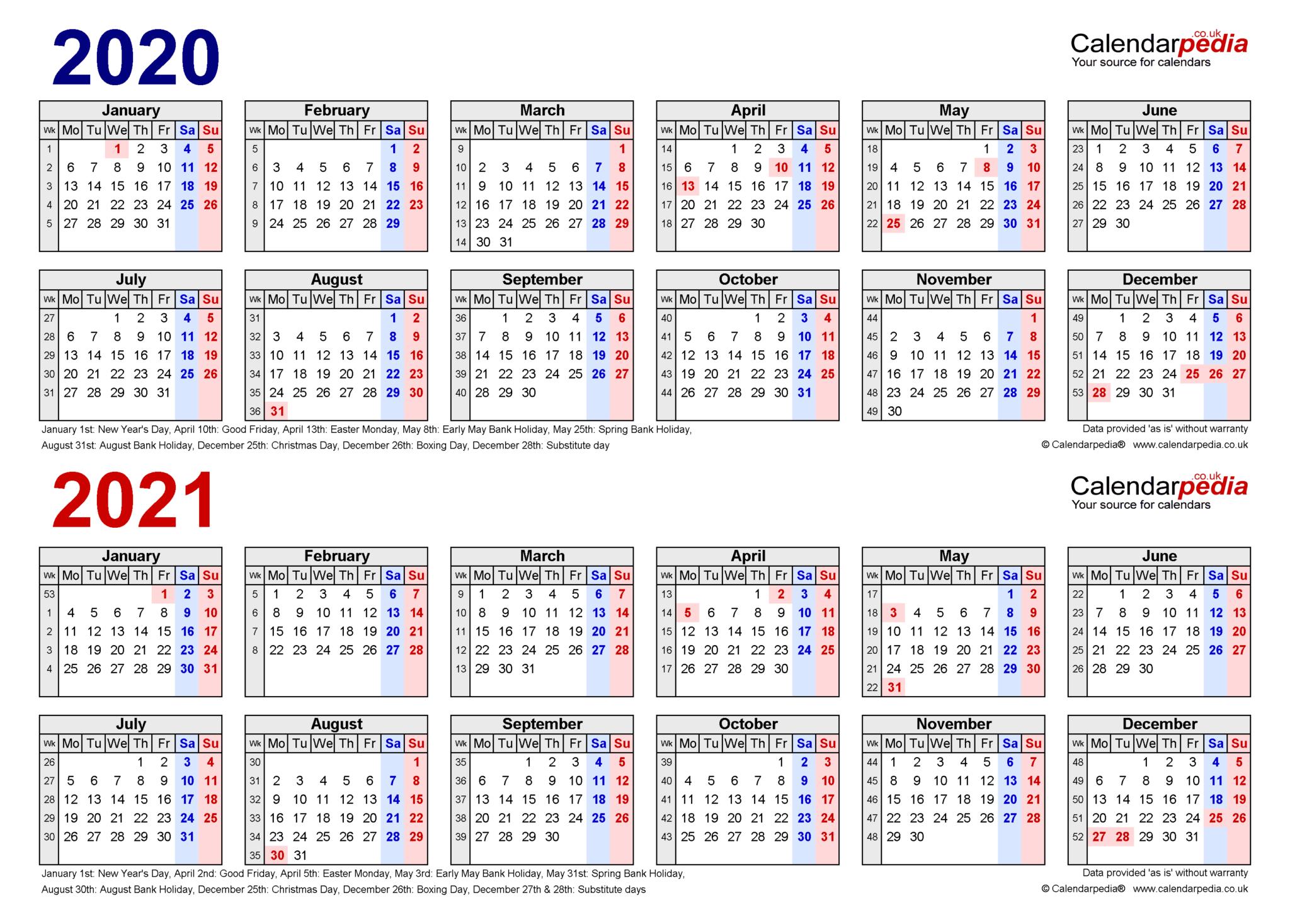 2021 Monthly Calendar Editable - Printablecalendarsfor2021