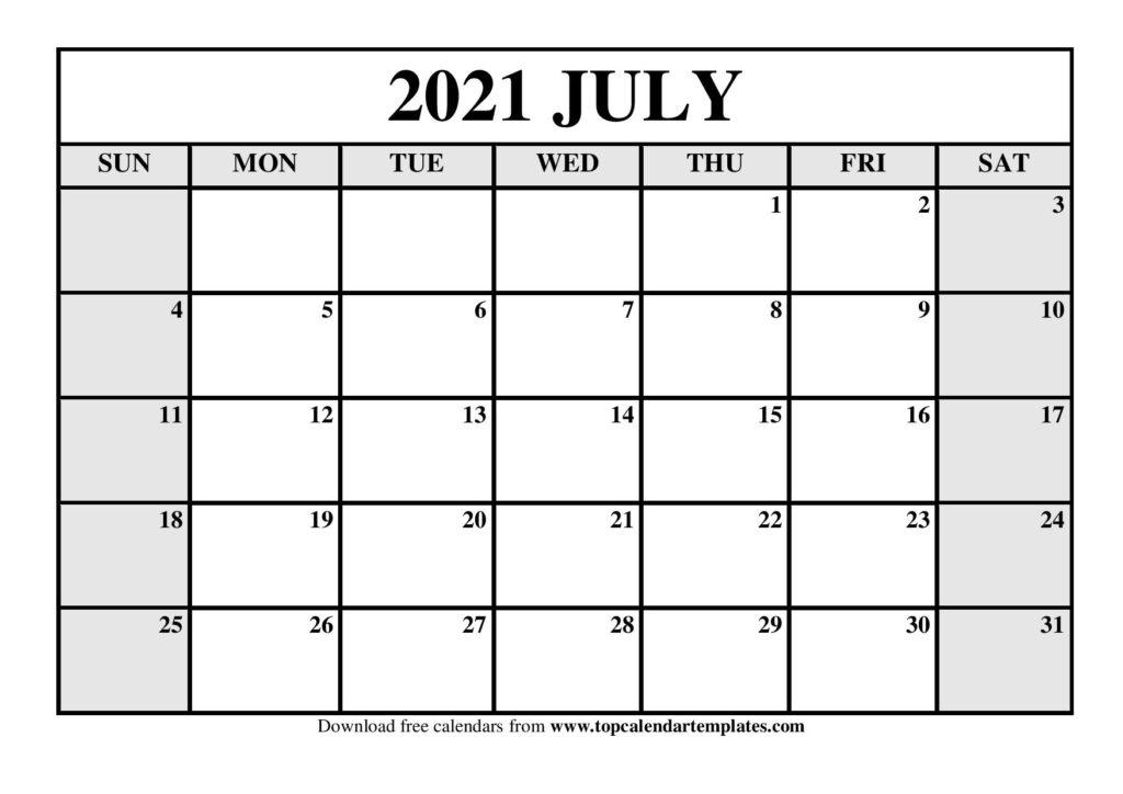Content Calendar Editable Templates 2021