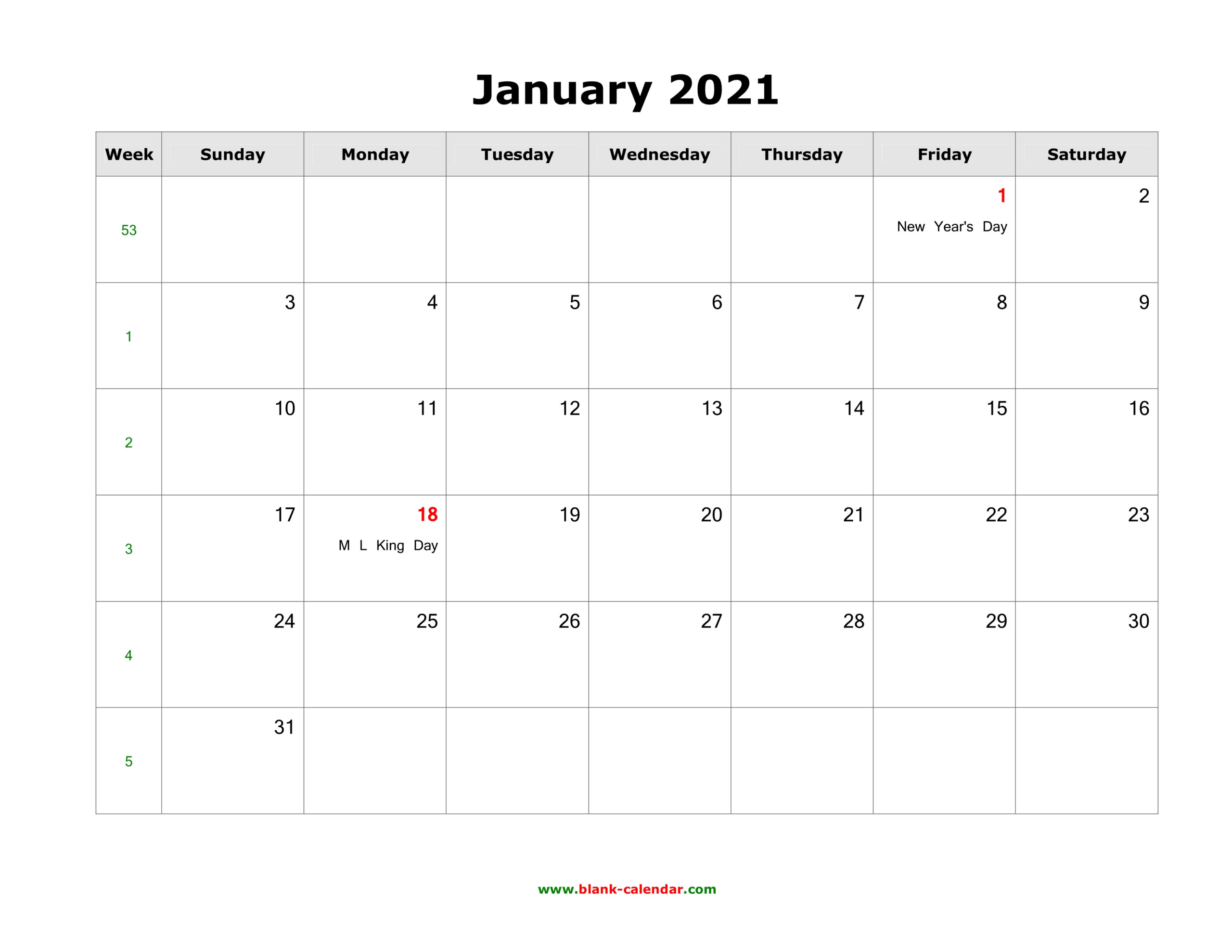 2021 Monthly Us Holidays Calendar | Printable Calendars 2021