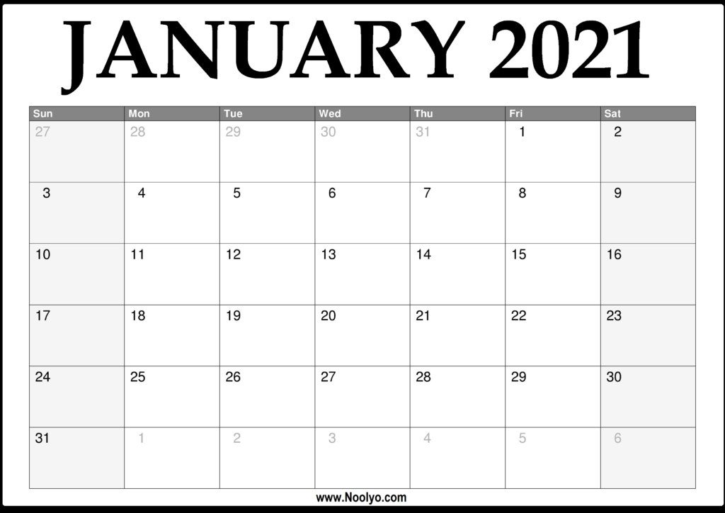 2021 Print Free Calendars Without Downloading   Calendar