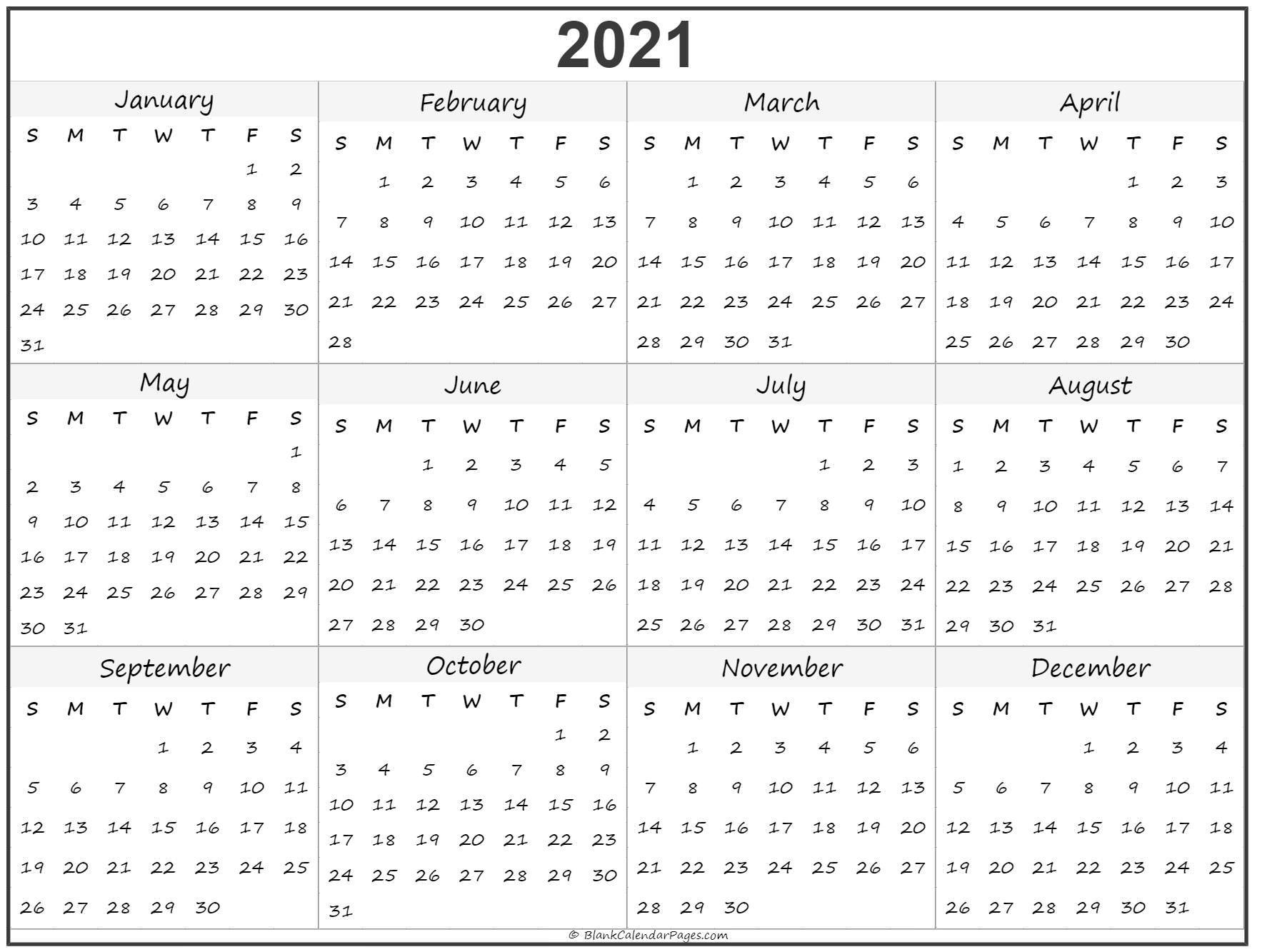 3 Month Calendar 2021 Printable Free To Take | Free