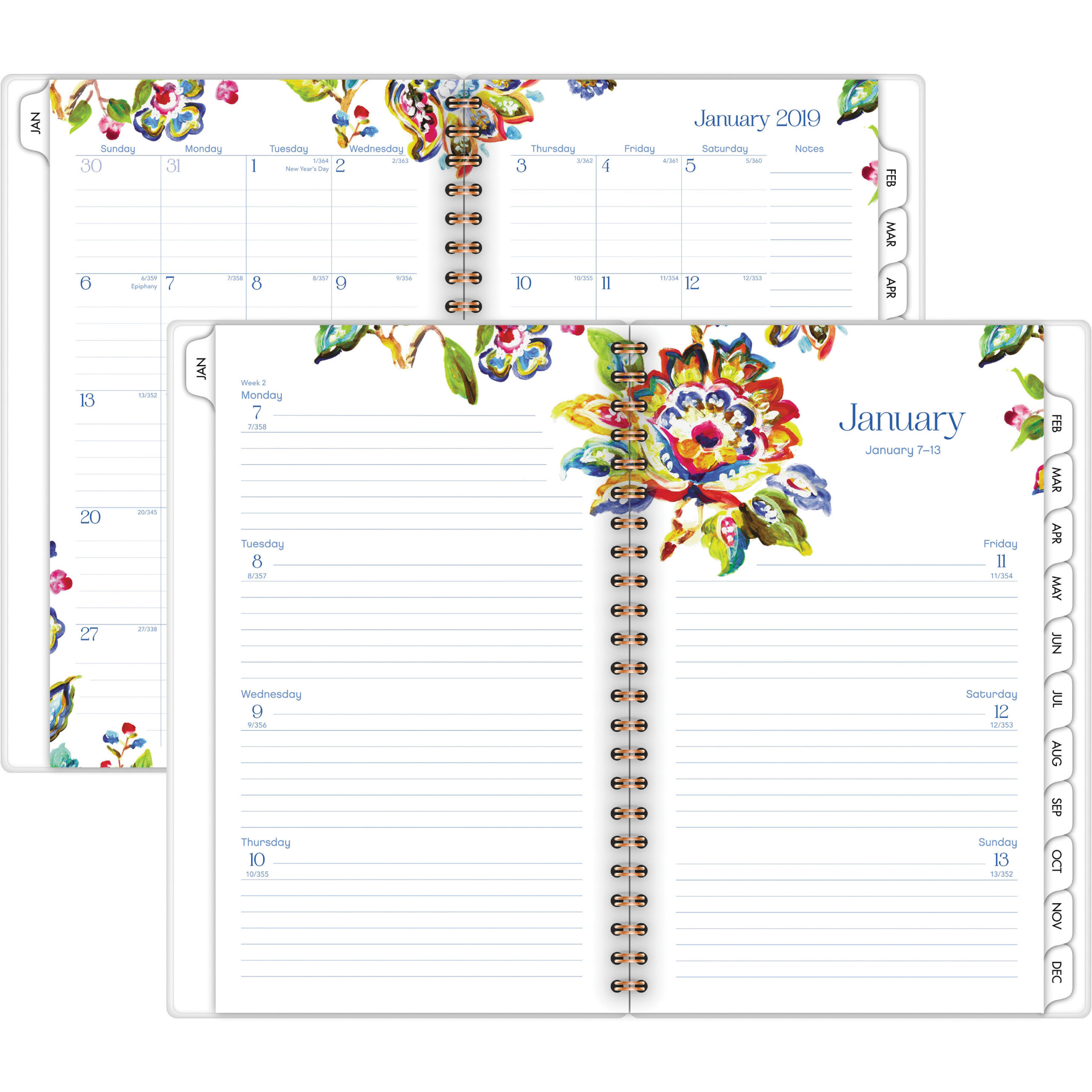 At-A-Glance Hannah Weeklymonthly Planner