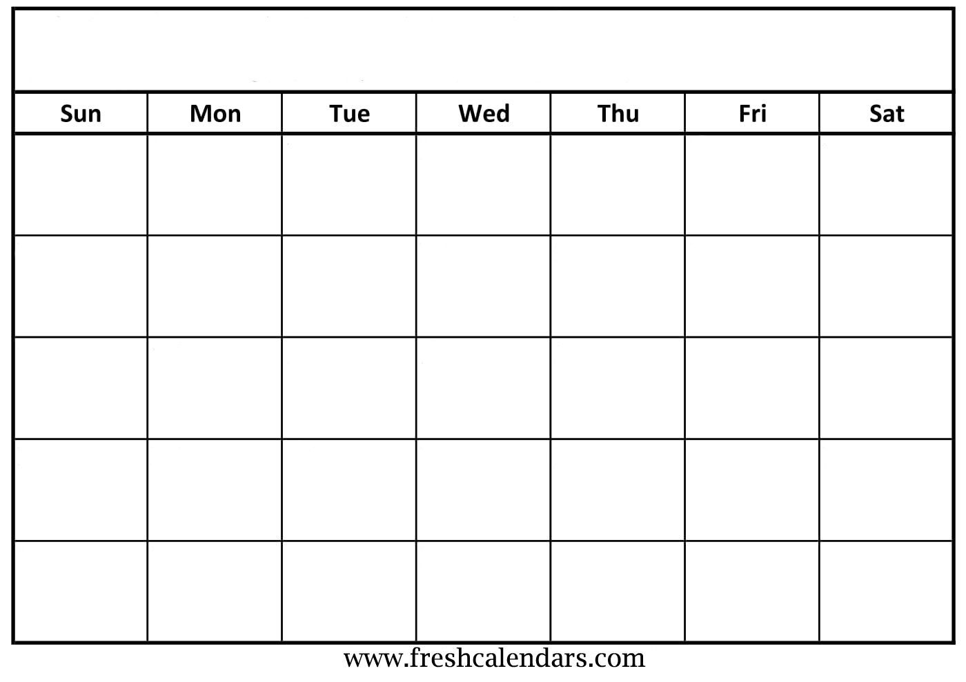 Calendar Template You Can Type In   Calender Template