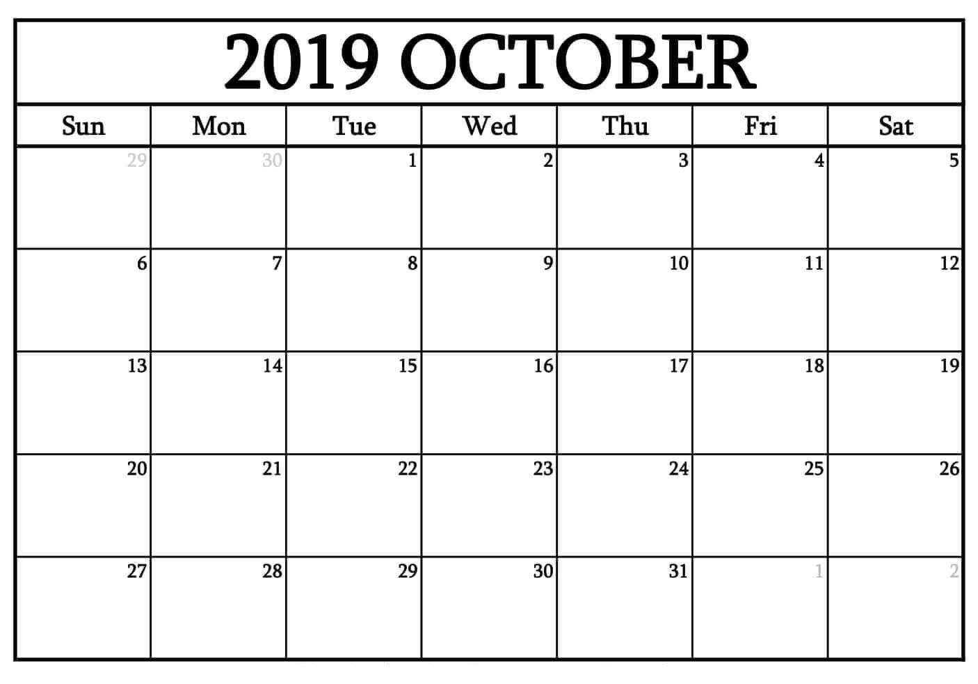 Printable Calendar That I Can Type On