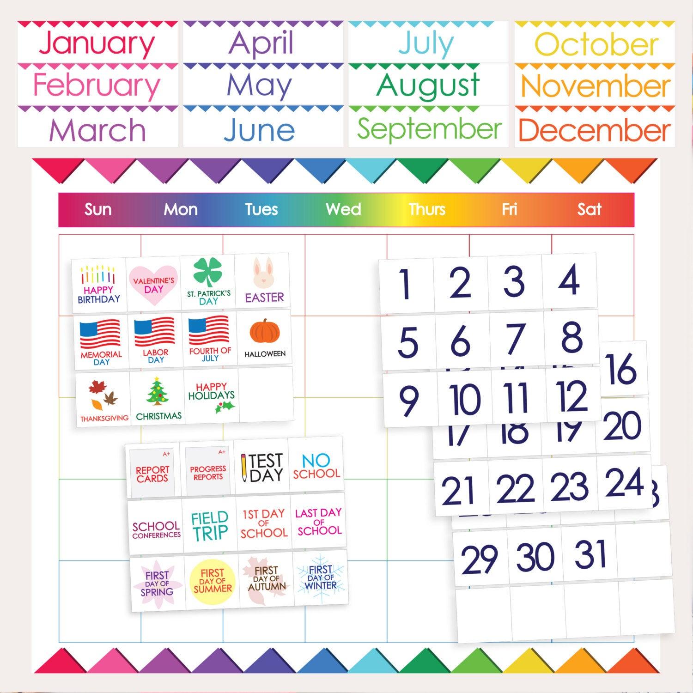 Classroom Calendar Printables - Calendar Templates