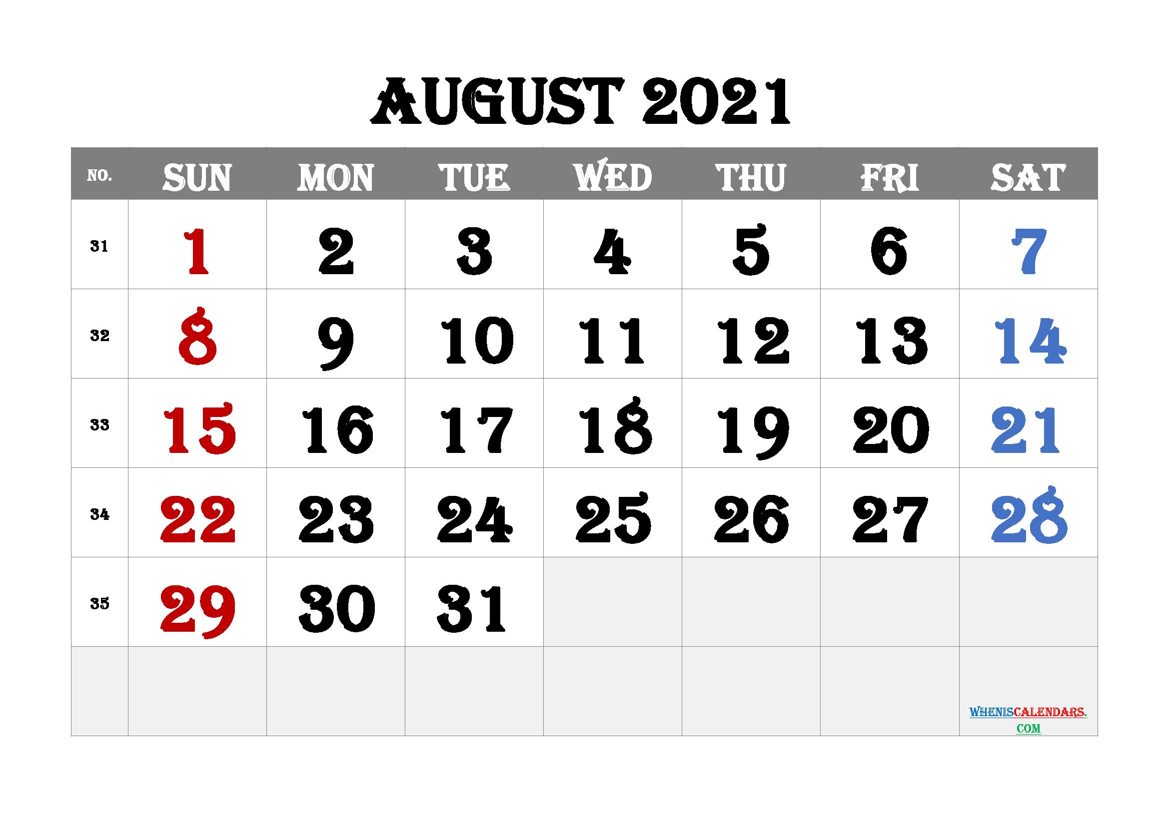 Editable Editable 2021 Calendar Editable Free Monthly