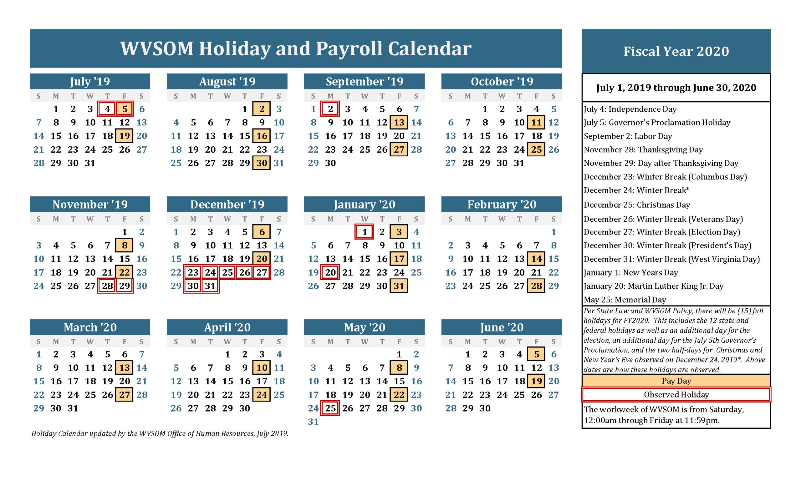 Employee Data Calendar May 2020-2021 | Calendar Template