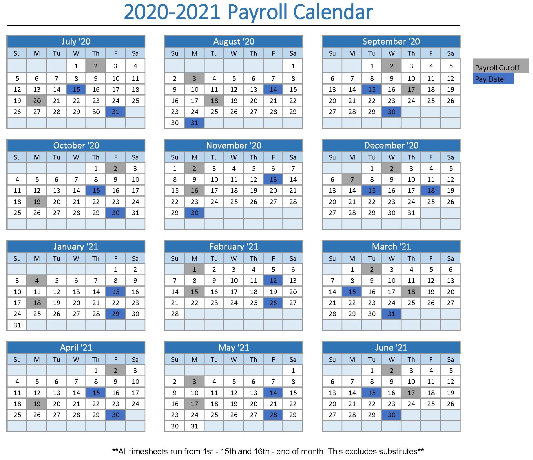 Exprs Payroll Calendar 2021 | 2021 Calendar
