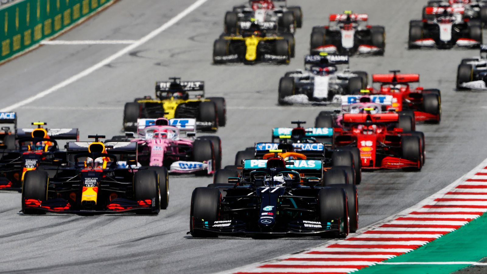 F1 Calendar: 2021 Season To Start With Bahrain Gp As Australia And China Races Postponed