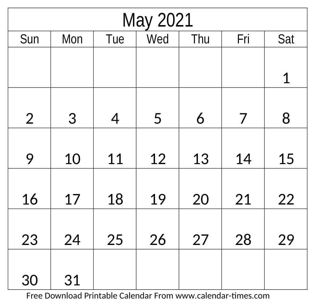 Free Editable 2021 Calendars In Word - Free 2021 Printable