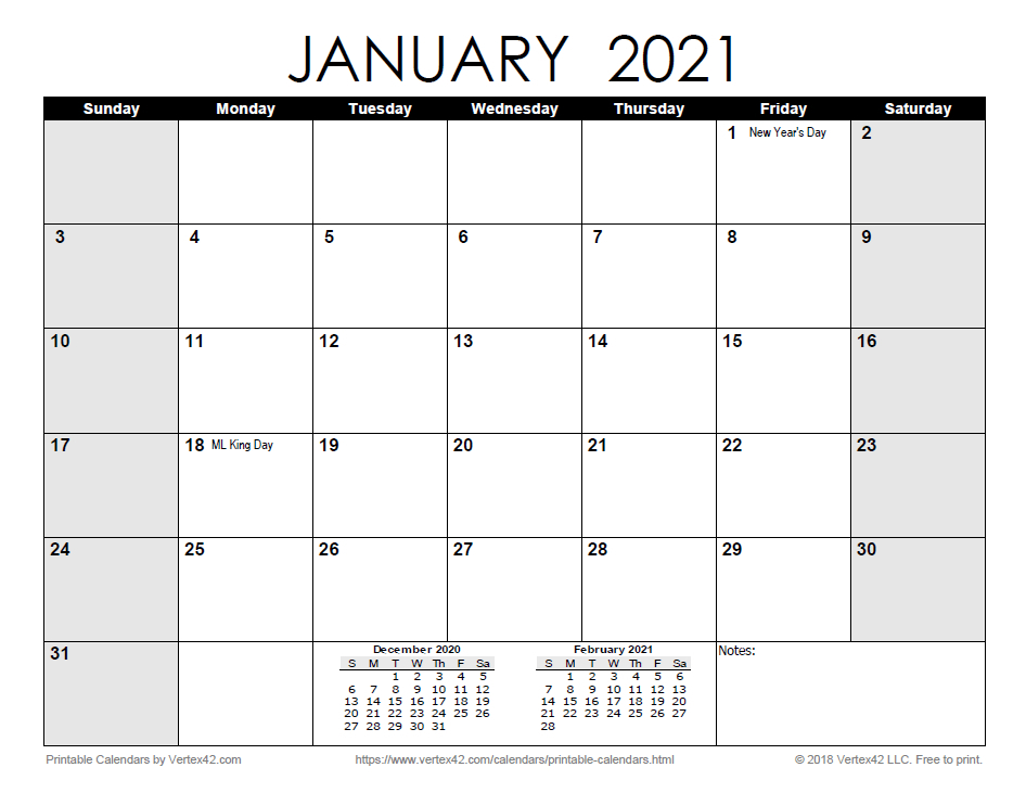 Free Print 2021 Calendars Without Downloading   Calendar